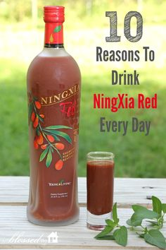 10 Reasons to Drink Young Living's NingXia Red every day!