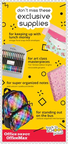 cf39db598bf87 Go with style this semester. Check out great deals on exclusive items only  at Office Depot OfficeMax.