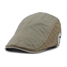 f32863a8ec9  FETSBUY  Driving Flat Cabbie Newsboy Caps Striped Peaked Hat Flat Cap Hats  For Men