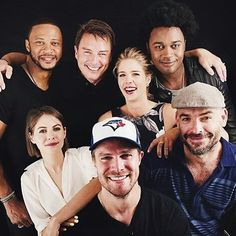 Arrow Cast & Family  Vote for ARROW the link is on the bio, and if…