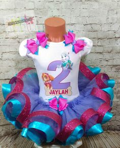 15% OFF Paw Patrol Birthday Outfit Girl by KudozKustomsBoutique