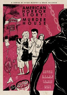 American Horror Story : Murder House (inspired posters)