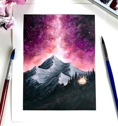 Amazing Art Painting - Here& a chart for your Friday! I wanted to work with warmer colors in Amazing Art Painting – Here& a chart for your Friday! I wanted to work with warmer colors in … Easy Watercolor, Watercolour Painting, Painting & Drawing, Diy Painting, Creative Painting Ideas, Galaxy Painting Acrylic, Hope Painting, Drawing Drawing, Disney Art Drawings