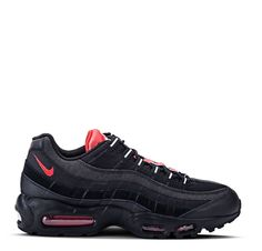 premium selection 27e82 f2d89 Nike Air Max 95 Essential - Black Challenge Red White