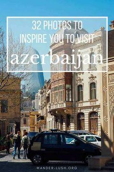 My favourite Azerbaijan photography, from Baku to Sheki, Quba to Gobustan. These 32 images will make you want to buy a ticket to Azerbaijan! India Travel Guide, Asia Travel, European Travel, Travel Advice, Travel Guides, Travel Tips, Azerbaijan Travel, Safe Journey, Photo Story