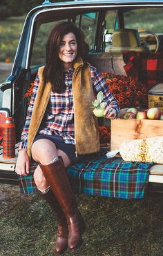 Apples, Pumpkins, and Friends for the Picking | Classy Girls Wear Pearls | Bloglovin'