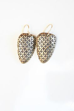 Crystal Mountain earrings by Kathryn Bentley