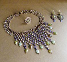 le blog de raphaële s Diy Jewelry Necklace, Seed Bead Necklace, Collar Necklace, Jewelry Crafts, Beaded Jewelry, Jewelery, Handmade Jewelry, Beaded Necklaces, Unique Jewelry