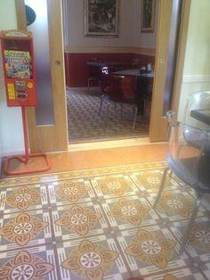 Poggiofiorito - pavimento in graniglia terrazzo tiles