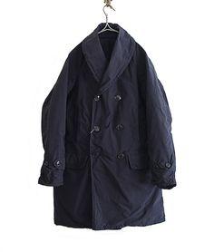 COMOLI ナイロンマッキノウコート(NAVY) http://floraison.shop-pro.jp/?pid=87459279