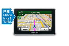 Garmin nüvi 2350LMT 4.3-Inch Widescreen Portable GPS Navigator with Lifetime Traffic and Map Updates (Discontinued by Manufacturer) * For more information, visit image link. (This is an affiliate link)