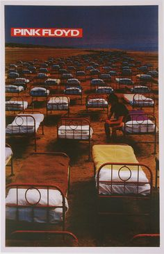 Pink Floyd World Tour Poster for the release of Momentary Lapse of Reason Best Of Pink Floyd, England Beaches, Band Wallpapers, Travel Humor, Celebrity Travel, Band Posters, Photoshop Design, Outdoor Art, Concert Posters