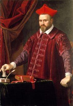 Cardinal Camillo Borghese, future Pope Paul V, ca. 1602 (Unknown Artist)  Location TBD