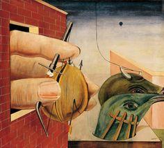 """""""Il muro che ci impedisce di passare, può anche essere la finestra che ci permette di vedere."""" (Raúl Aceves, Aforismos y desaforismos, 1999)  [Opera: Max Ernst, Oedipus Rex, 1922]"""