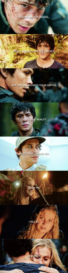 Bellamy Blake and Clarke Griffin || The 100 || Bellarke || Bob Morley and Eliza Jane Taylor