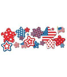 #CDWishList Patriotic Stars & Flags Bulletin Board Set - Carson Dellosa Publishing Education Supplies