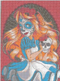 Princess Alice Sugar skull graphgan
