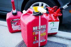The Best Gas Can | The No-Spill can had the easiest spout to operate by far, and in our tests it didn't spill a drop when pouring.