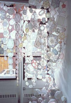 paper mixed media sculpture by kirsten hassenfeld
