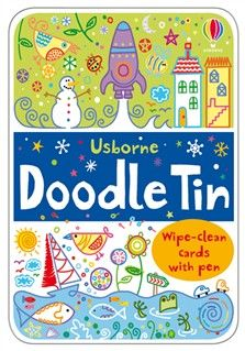 Doodle Tin - new for Dec 2012