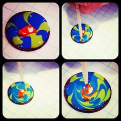Painting pennies! Cute project idea!