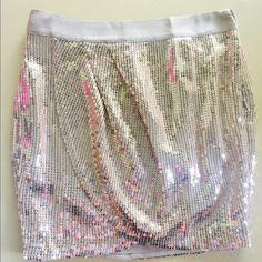Host PickVictoria' Secret sequin skirt NWT Gorgeous sequin skirt NWT to go to party. Victoria's Secret Skirts Mini