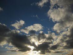 Setting sun on last saturday over Nuremberg-South.