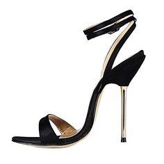 Women's Stiletto Heel Slingback Sandals Shoes(More Colors) – EUR € 44.99
