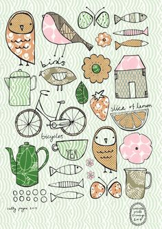 Illustration umbrellasketchsallypayne