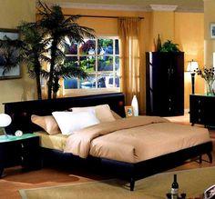 Minimalist modern bedroom decoration for man