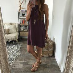 Veronica Open Back Dress