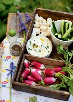 Prep-ahead for a picnic or whip up for a party, either way this yummy dip is ready in minutes!