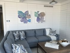 New works from Meredith Pardue installed in Longport!