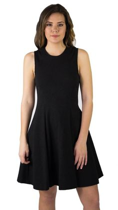 Theory 'Tespa' Textured Knit Fit and Flare Dress - The Mercantile