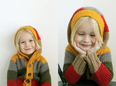 lovely knitted cardigan! by KOTIPALAPELI