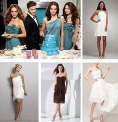 bridesmaid dresses UK for crystal wedding