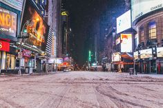 Photographers Find Beauty in a Desolate New York City