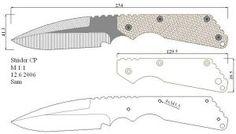 Чертежи ножей для изготовления: часть 3 | LastDay Club image 86