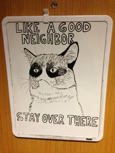 Funny pictures about How To Be A Good Neighbor. Oh, and cool pics about How To Be A Good Neighbor. Also, How To Be A Good Neighbor photos. Haha Funny, Funny Memes, Funny Stuff, Funny Things, Funny Shit, Random Stuff, Random Things, That's Hilarious, Random Thoughts