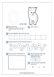 Check these Alphabet Recognition Activity Worksheets to help your child learn and recognize capital letters, objects that start with each letter, letter formation etc. Alphabet Writing Practice, Alphabet Tracing, Alphabet Worksheets, Alphabet Activities, Printable Alphabet, Arabic Alphabet, Free Printable, Pre Writing, Writing Skills