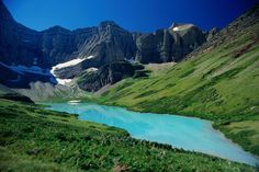 Crackee Lake, Glacier National Park, Montana