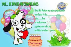 Invitaciones De Cumpleaños Para Niños Gratis Para Imprimir Para Descargar Al…