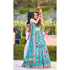 Offbeat blue lehenga for a perfect mehndi ceremony Mehendi Outfits, Bridal Outfits, Blue Lehenga, Lehenga Choli, Mehndi Ceremony, Wedding Venue Inspiration, Bridal Photoshoot, Best Wedding Photographers, Unique Outfits