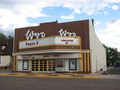The Wyo Theater in historic downtown Laramie