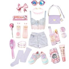 starry eyes, sweet tooth by nicholael on Polyvore featuring ASOS, TONYMOLY and Levi's