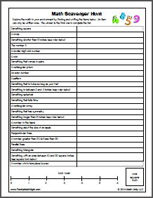 Fun first week of school activity! Scavenger Hunt:  This is the 3-5 version. Click the link on the pin to get the K-2 version which includes pictures and is played like bingo.  Also a great family homework activity.