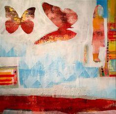 """Saatchi Art Artist Randi Antonsen; Painting, """"henne"""" #art"""
