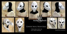Cast resin masquerade mask perfect for events, festivals and even a certain special holiday! A plain mask such as this specimen here will sell for $75-$80 USD. I will alert people when they will be...