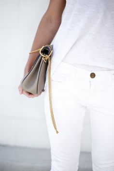 Clothes outfit for woman * teens * dates * stylish * casual * fall * spring * winter * classic * casual * fun * cute* sparkle * summer *Candice Wicks Coco Chanel, Looks Style, My Style, Happily Grey, Look 2015, Vogue, White Style, Spring Summer Fashion, Summer 2015