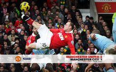 Rooney shinner against Citeh...